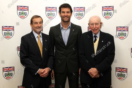 2015 British Racing Drivers Club Awards Grand Connaught Rooms, London Monday 7th December 2015 Stuart Graham, Mark Webber and John Surtees. World Copyright: Jakob Ebrey/LAT Photographic