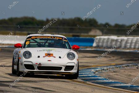 Stock Picture of 16-18 March, 2016, Sebring, Florida, USA 6, Porsche, 997, GS, Frank Depew, Jim Jonsin ?2016, Jake Galstad LAT Photo USA