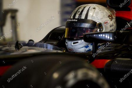 2015 GP2 Series Test 3. Yas Marina Circuit, Abu Dhabi, United Arab Emirates. Wednesday 2 December 2015. Alex Fontana (SUI, Rapax). World Copyright: Zak Mauger/LAT Photographic.