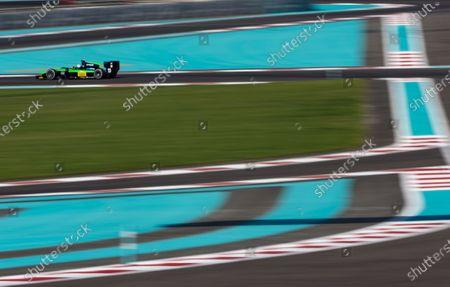 2015 GP2 Series Test 3. Yas Marina Circuit, Abu Dhabi, United Arab Emirates. Thursday 3 December 2015. Alex Fontana (SUI, Status Grand Prix). World Copyright: Zak Mauger/LAT Photographic.