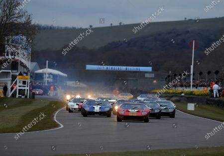 Editorial picture of 2016 74th Members Meeting Goodwood - 19 Mar 2016