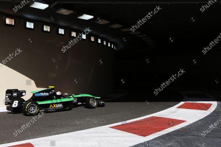 2015 GP3 Series Round 9. Yas Marina Circuit, Abu Dhabi, United Arab Emirates. Friday 27 November 2015. Alex Fontana (SUI, Status Grand Prix). Photo: Zak Mauger/GP3 Series Media Service.