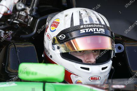 2015 GP3 Series Round 9 Yas Marina Circuit, Abu Dhabi, UAE. Friday 27 November 2015. Alex Fontana (SUI, Status Grand Prix)  Photo: Sam Bloxham/GP3 Series Media Service.