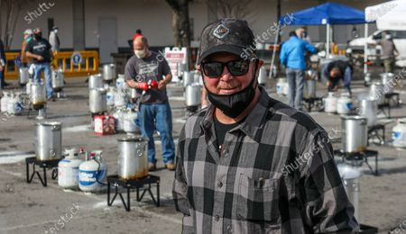 Country artist Tracy Lawrence is seen at the 15th Annual Mission: Possible Turkey Fry