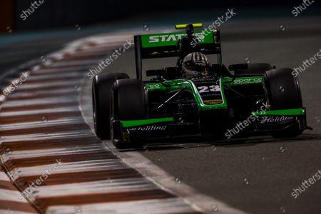Editorial photo of FIA F2, Test 3 - Yas Marina, Abu Dhabi, Yas Marina Circuit, United Arab Emirates - 03 Dec 2015
