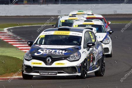 2015 Renault Clio Cup, Silverstone, 26th-27th September 2015, Tom Butler (GBR) 20ten Racing Renault Clio Cup  World copyright. Jakob Ebrey/LAT Photographic