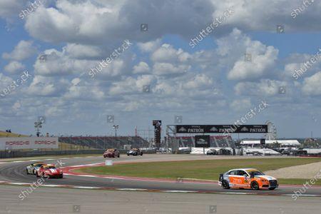 16-18 September 2015, Austin, Texas USA 74, Audi, S3, ST, Jim McGuire, Nico Rondet, 87, Porsche, Cayman, ST, Jim Jonsin, Remo Ruscitti ?2015, Scott R LePage  LAT Photo USA