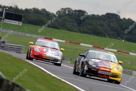 Editorial photo of Porsche, Round 5 - Snetterton 300, Snetterton, United Kingdom - 23 Aug 2015