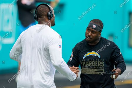 Editorial photo of Chargers Dolphins Football, Miami Gardens, United States - 15 Nov 2020