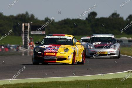 Stock Photo of 2015 Porsche Club Championship,  Snetterton, Norfolk. 22nd - 23rd August 2015. Peter Morris Porsche 996 C2.  World Copyright: Ebrey / LAT Photographic.