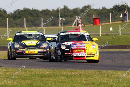2015 Porsche Club Championship,  Snetterton, Norfolk. 22nd - 23rd August 2015. Peter Morris Porsche 996 C2.  World Copyright: Ebrey / LAT Photographic.