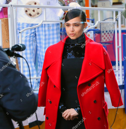 Editorial image of Macy's Thanksgiving Day Parade filming, Herald Square, New York, USA - 24 Nov 2020