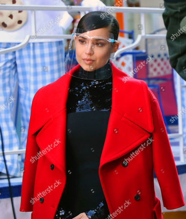 Editorial photo of Macy's Thanksgiving Day Parade filming, Herald Square, New York, USA - 24 Nov 2020