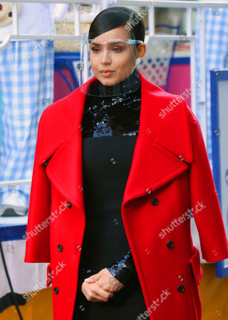 Editorial picture of Macy's Thanksgiving Day Parade filming, Herald Square, New York, USA - 24 Nov 2020