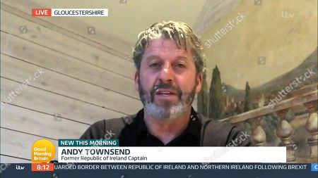 Stock Picture of Andy Townsend