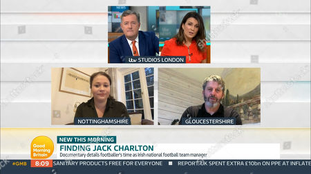 Piers Morgan, Susanna Reid, Emma Wilkinson and Andy Townsend
