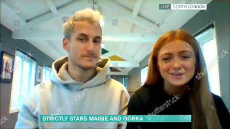 Stock Picture of Gorka Marquez and Maisie Smith