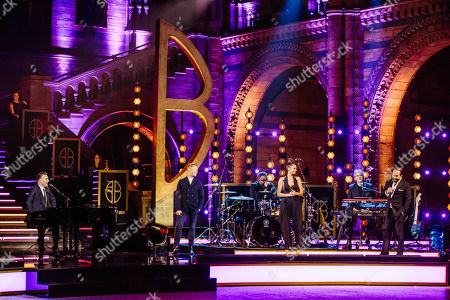 Gary Barlow, Ronan Keating, Alesha Dixon and Alfie Boe.