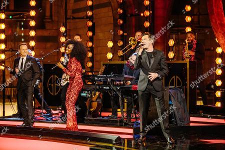 Photo éditoriale de 'Gary Barlow's Night At The Museum' TV Show, UK - 06 Dec 2020