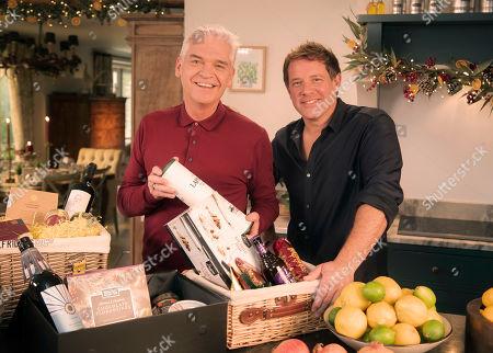 Phillip Schofield with chef Matt Tebbutt