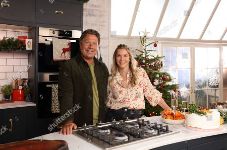 Editorial picture of 'John and Lisa's Christmas Kitchen' TV Show, UK - 12 Dec 2020