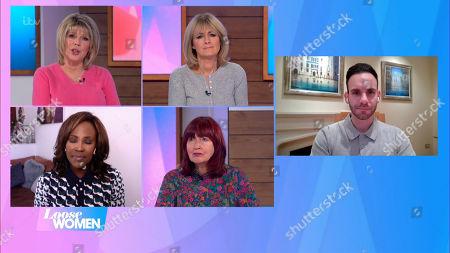 Ruth Langsford, Jane Moore, Kelle Bryan, Janet Street-Porter and George Rhodes