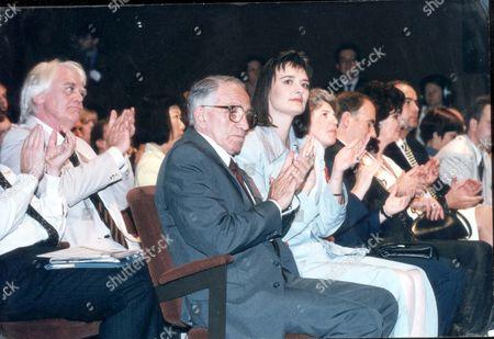 Antony Booth - Actors October 1994 Antony Booth - Actor With Daughter Mrs Tony Blair.... actors