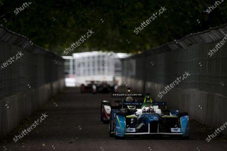 2014/2015 FIA Formula E Championship. London e-Prix, Battersea Park, London, UK. Sunday 28 June 2015. Jarno Trulli (ITA)/Trulli Racing - Spark-Renault SRT_01E World Copyright: Zak Mauger/LAT Photographic/Formula E.