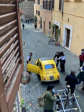 Editorial image of Mission: Impossible 7 film shooting in Rome, Italy - 25 Nov 2020