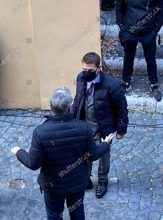 Editorial photo of Mission: Impossible 7 film shooting in Rome, Italy - 25 Nov 2020