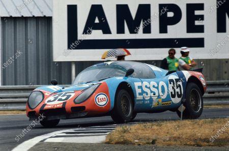 Editorial image of Le Mans, 1975 Le Mans 24 hours., Circuit de la Sarthe, France - 15 Jun 1975