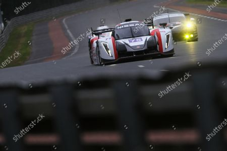 2015 Le Mans 24 Hours Test Day, Le Mans, France. 31st May 2015. Lawrence Tomlinson / Chris Hoy / Charlie Robertson Team LNT Ginetta Nissan. World Copyright: Ebrey / LAT Photographic.