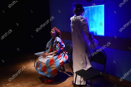 Editorial picture of ... In Joy and Sorrow play premieres in Sievierodonetsk, Ukraine - 24 Nov 2020
