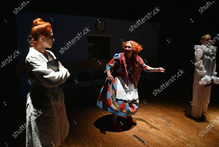 Editorial photo of ... In Joy and Sorrow play premieres in Sievierodonetsk, Ukraine - 24 Nov 2020