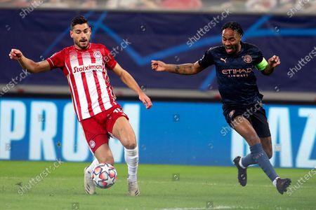 Editorial picture of Olympiacos Piraeus vs Manchester City, Greece - 25 Nov 2020