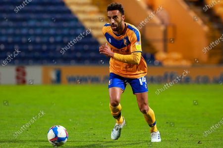 Stock Photo of James Perch of Mansfield Town