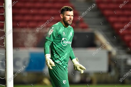 Ben Foster (1) of Watford during the EFL Sky Bet Championship match between Bristol City and Watford at Ashton Gate, Bristol
