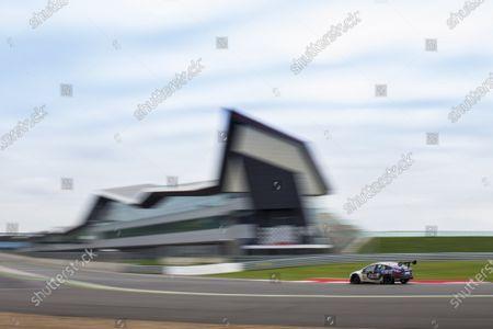 Stock Image of 2015 Silverstone Dunlop Britcar 24 Hour. Silverstone, Northamptonshire. 24th - 26th April 2015. #91 - Tom Onslow-Cole (GB)/Paul White (GB)/Ben Gersekowski (AUS)/Gary Jacobsen - Marc Cars Australia/Ryan McLeon, GTE, MARC Focus V8.  World Copyright: Zak Mauger/LAT Photographic.