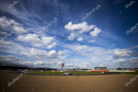 2015 Silverstone Dunlop Britcar 24 Hour. Silverstone, Northamptonshire. 24th - 26th April 2015. #91 - Tom Onslow-Cole (GB)/Paul White (GB)/Ben Gersekowski (AUS)/Gary Jacobsen - Marc Cars Australia/Ryan McLeon, GTE, MARC Focus V8.  World Copyright: Zak Mauger/LAT Photographic.