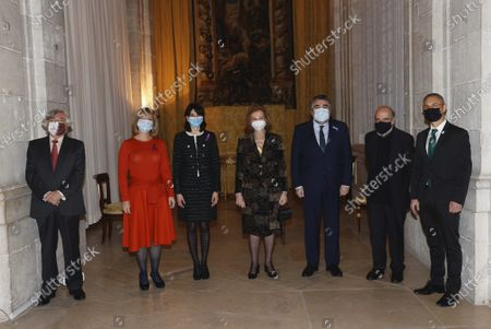 The Former Queen Sofia attends 29th Former Queen Sofia Prize for Ibero-American Poetry at Royal Palace