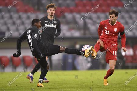 Editorial image of Bayern Munich vs FC Salzburg, Germany - 25 Nov 2020
