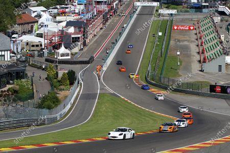 2015 Ginetta GT5 Challenge, Spa Francorchamps, Belgium. 10th - 11th July 2015. Charles Ferguson (GBR) Ginetta G40. World Copyright: Ebrey / LAT Photographic.
