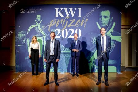 Queen Maxima will announce the winners of the Koning Willem I prize in the Beurs van Berlage in Amsterdam, where representatives of all nominated companies are present