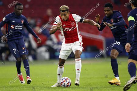 Editorial image of Ajax - FC Midtjylland, Amsterdam, Netherlands - 25 Nov 2020