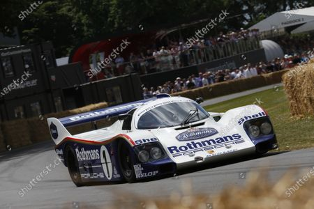 2015 Goodwood Festival of Speed Goodwood Estate, West Sussex, England. 25th - 28th June 2015. Henry Pearman/Murray Smith, Porsche 962. World Copyright: Alastair Staley/LAT Photographic