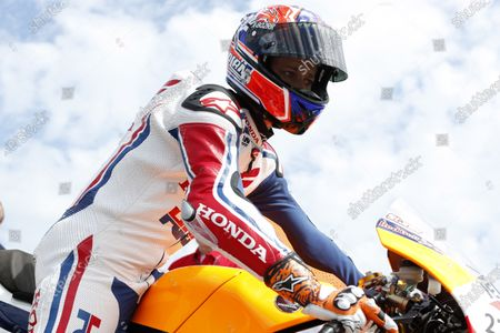 2015 Goodwood Festival of Speed Goodwood Estate, West Sussex, England. 25th - 28th June 2015. Casey Stoner, Honda RC213V. World Copyright: Alastair Staley/LAT Photographic