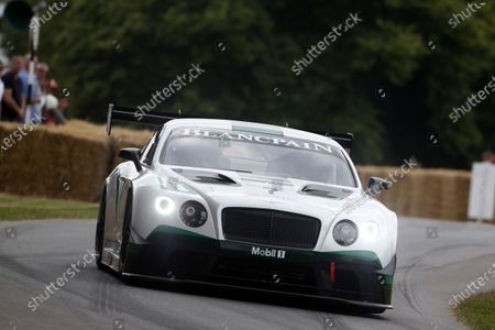 2015 Goodwood Festival of Speed Goodwood Estate, West Sussex, England. 25th - 28th June 2015. Guy Smith, Bentley Continental GT3. World Copyright: Alastair Staley/LAT Photographic