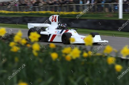 2015 73rd Members Meeting  Goodwood Estate, West Sussex, England 21st - 22nd March 2015 High Airbox F1 Cars Hesketh 308 James Hagan World Copyright: Jeff Bloxham/LAT Photographic
