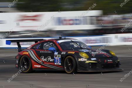 19-21 March, 2015, Sebring, Florida, USA 73, Porsche, 911 GT America, GTD, Patrick Lindsey, Spencer Pumpelly, Jim Norman ?2015 Scott R LePage  LAT Photo USA
