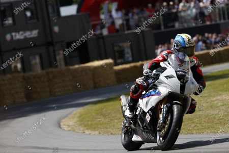 2015 Goodwood Festival of Speed Goodwood Estate, West Sussex, England. 25th - 28th June 2015. Maria Costello, BMW S1000RR. World Copyright: Alastair Staley/LAT Photographic